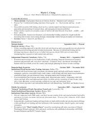 Nutritionist Resume Sample by Mark Cheng Linked In Resume Institutional Trading