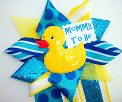 Rubber Ducky Baby Shower Centerpieces by Rubber Ducky Baby Shower Corsage Ready To Ship By Crazycraftfrog