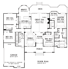 Donald Gardner Floor Plans Home Plan The Evangeline By Donald A Gardner Architects