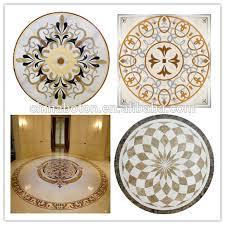 marble floor medallion mosaic floor tile marble flower
