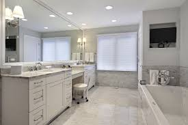 great modern over mirror lighting fix marble master bathroom