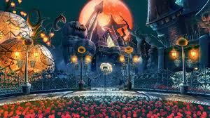halloween background animated fighting game wallpaper wallpapersafari
