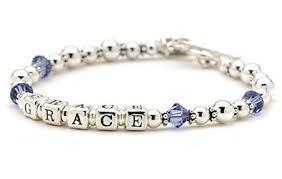 baby bracelets personalized bracelet for braceletforgirl