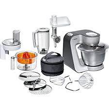 de cuisine bosch mum5 amazon de bosch mum56340 küchenmaschine styline mum5 900 watt