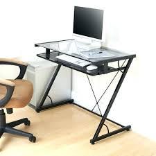 Black Glass Computer Desk Modern Glass Computer Desk U2013 Archana Me
