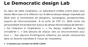 democratic design x ikea x paris design week lappoms