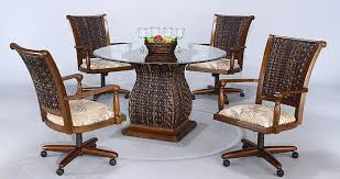 Bamboo Dining Room Chairs Beautiful Dining Tables Add Charm To Your Dining Room Furniture