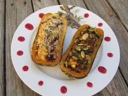 delicata squash stuffed 2 ways great vegetarian and or vegan