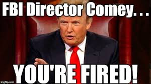 Director Meme - image tagged in fbi director james comey donald trump you re fired