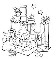 christmas colouring pages free print colour