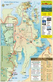 Map Of Washington State by Map Of Jefferson County On Olympic Peninsula In Washington State