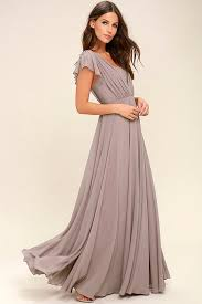 stunning taupe dress maxi dress gown 89 00