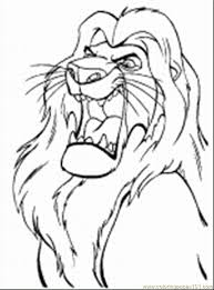 lion king coloring pages 1 coloring page free the lion king