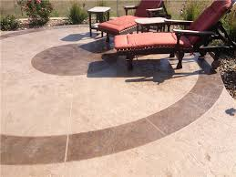Dyed Concrete Patio by Colorflo Liquid Color Solomon Colors