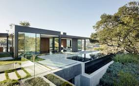 Beverly Hills Mansion Floor Plans California Contemporary Folds Into The Hills Builder Magazine