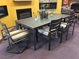 Lee Patio Furniture by Ow Lee Gios Dining Table Perfect For Long Narrow Areas Modern