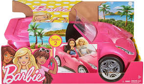 barbie glam convertible kids george asda