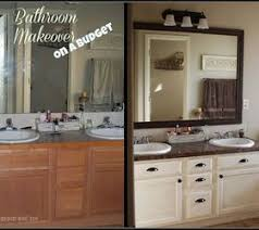 bathroom vanity makeover ideas bathroom redo master mini makeover budget bathroom ideas home
