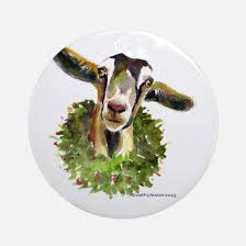 goat ornament cafepress