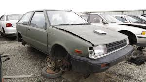 1987 hyundai excel zero options poverty edition u2013 junkyard find