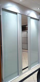 Frosted Closet Door Smoked Glass Sliding Wardrobe Doors Frosted Glass Sliding Doors