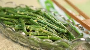green beans with lemon butter gac