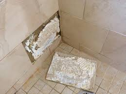 how to repair a shower tile snapguide