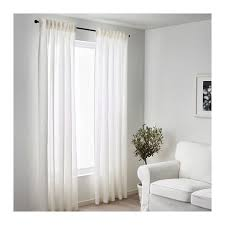 White Linen Curtains Ikea Lejongap Linen Curtain Ikea Ps And Dfs