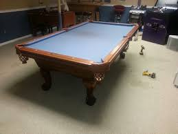how much to refelt a pool table pool table disassembly and reassembly experienced professionals