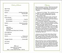templates for funeral program sle funeral program experience picture templates blank template