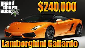lamborghini gallardo buy gta 5 grand theft auto v gameplay bought lamborghini