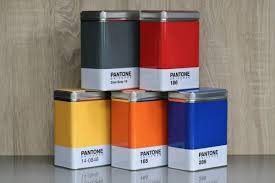 add colour to your home with pantone universe storage containers
