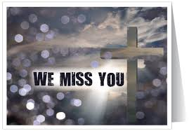 i miss you cards we miss you at church card 39053 harrison greetings business