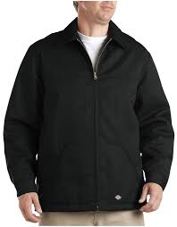 hip length twill jacket for men dickies