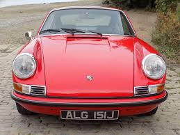 pink porsche convertible classic chrome porsche 911s 2 2 1971 l red