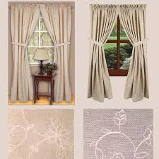 candlewicking drapery panels primitive home decors