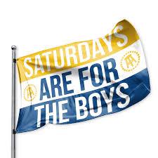 Virginia Flags Saftb Flag Oldgold White Blue Barstool Sports