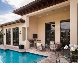 house plans with pools and outdoor kitchens pools and outdoor kitchens houzz