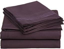 amazon com anili mili 1800 collection 6 piece bed sheet set with