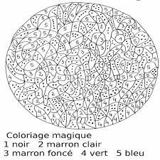 coloriage magique cm1 à imprimer