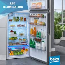 led illumination on beko fridges is brighter more durable and