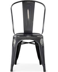 Black Metal Chairs Dining Snag This Sale 30 Distressed High Back Metal Dining