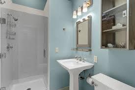 modern full bathroom with pedestal sink in seattle wa zillow