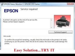 epson l360 ink pad resetter epson ink pad is at the end of its service life error problem