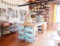 16 inspiring ideas for organizing your craft room brit co