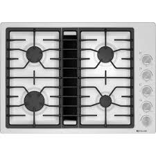 Ge Downdraft Gas Cooktop Kitchen The Most Inch Masterpiece Series Gas Cooktop Sgsx305fs In
