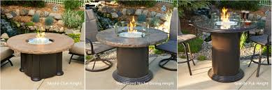 Classic Accessories Veranda Round Square - tall fire pit crafts home