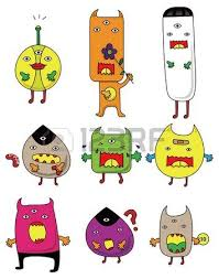 doodle monster stock photos royalty free doodle monster images