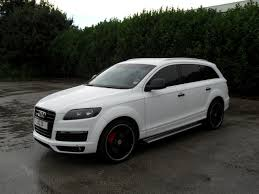 white wrapped cars wraap gallery audi q7