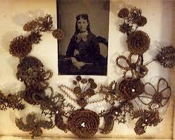 hair wreath image detail for pandora s antique hair wreath